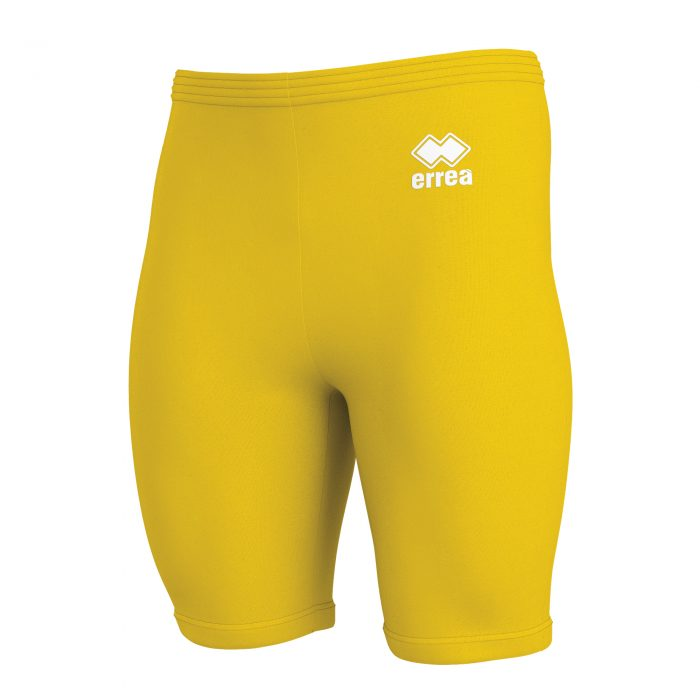 Errea Dawe Baselayer Shorts Yellow