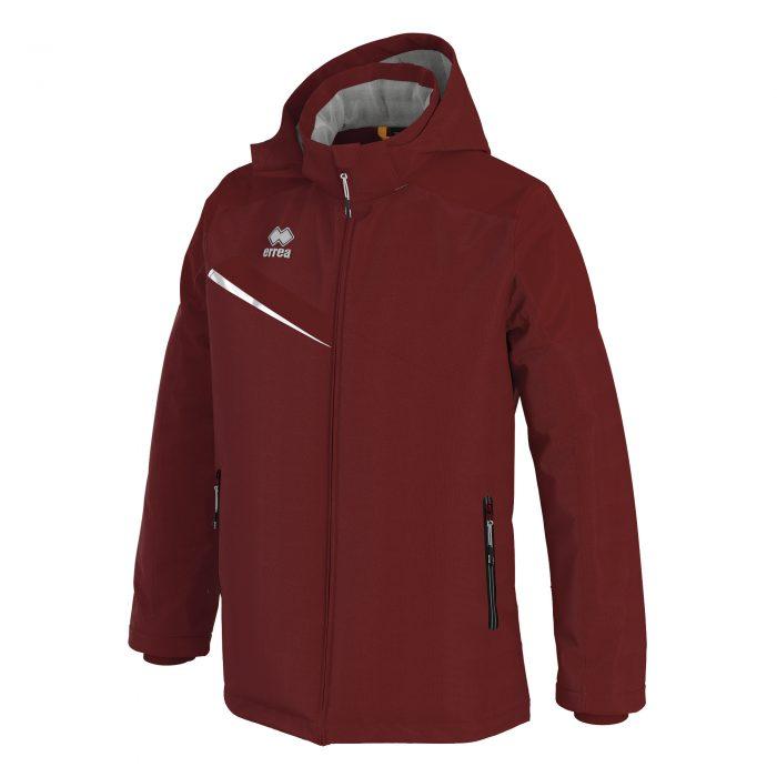 Errea Iceland 3 Winter Jacket Maroon