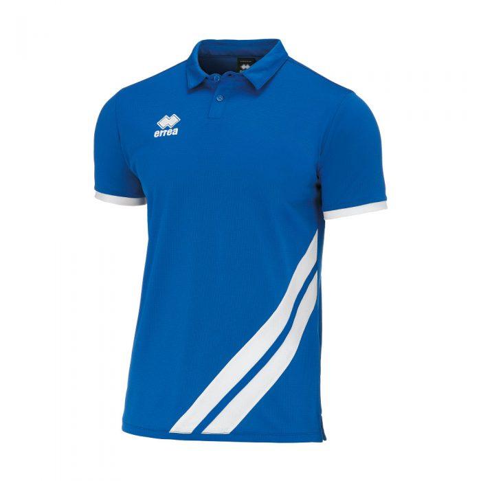 Errea John Polo Shirt Blue White