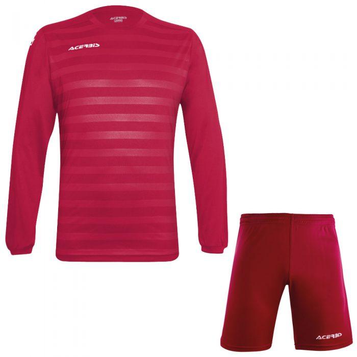 Acerbis Atlantis 2 Long Sleeve Football Kit Maroon