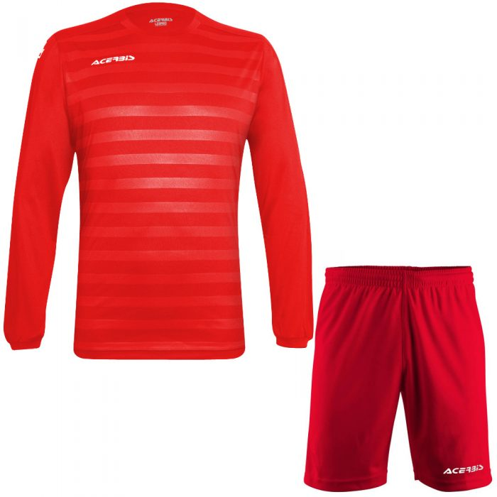 Acerbis Atlantis 2 Long Sleeve Football Kit Red