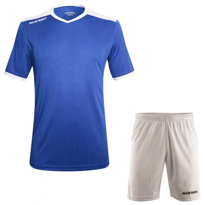Acerbis Belatrix Short Sleeve Football Kit Blue White