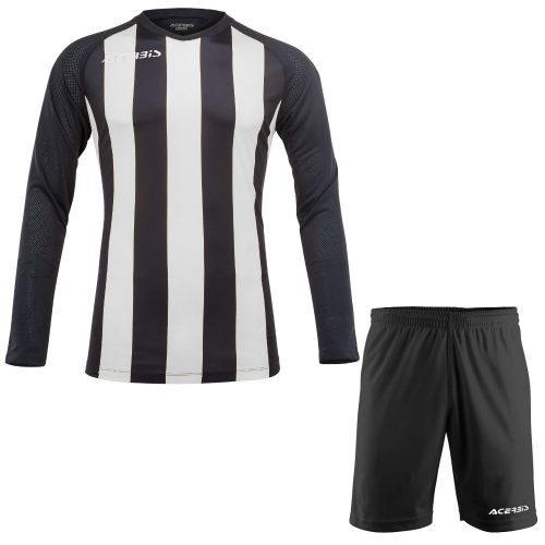Acerbis Johan Long Sleeve Football Kit Black White