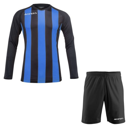 Acerbis Johan Long Sleeve Football Kit Blue Black
