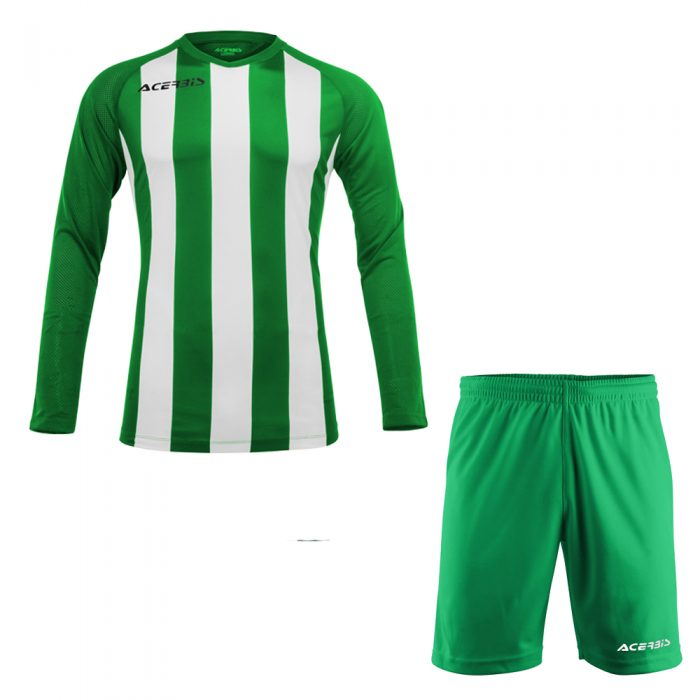 Acerbis Johan Long Sleeve Football Kit Green White