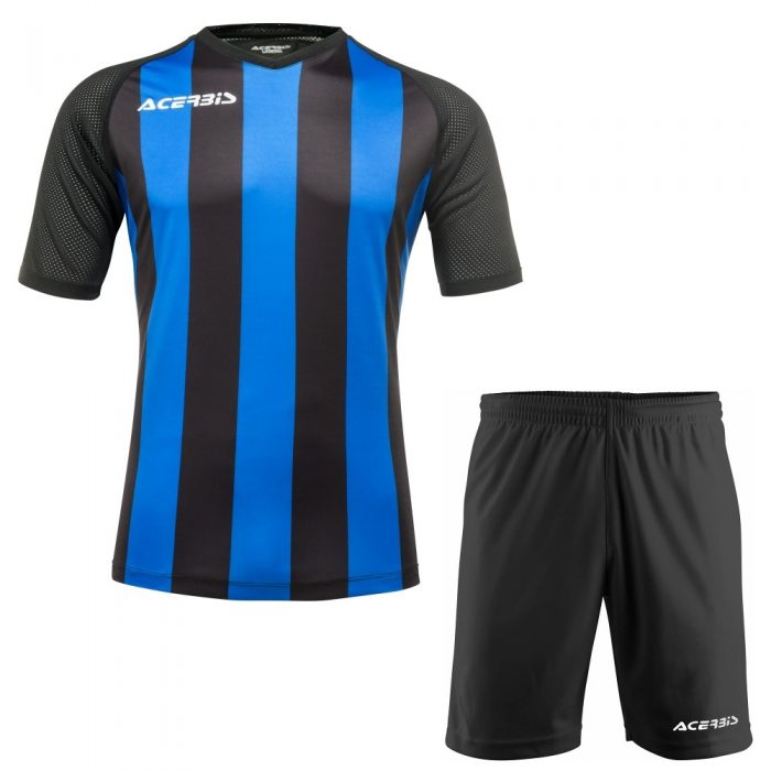 Acerbis Johan Short Sleeve Football Kit Blue Black
