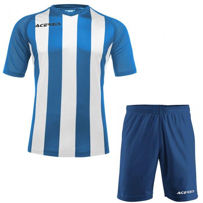 Acerbis Johan Short Sleeve Football Kit Blue White