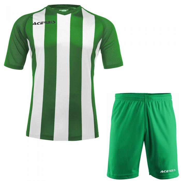 Acerbis Johan Short Sleeve Football Kit Green White