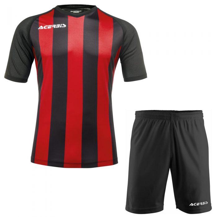 Acerbis Johan Short Sleeve Football Kit Red Black