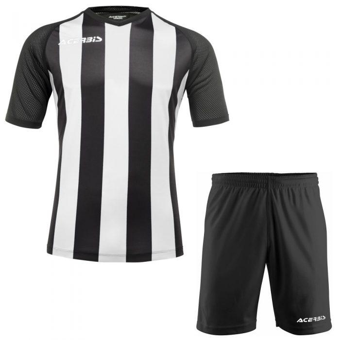 Acerbis Johan Short Sleeve Football Kit White Black
