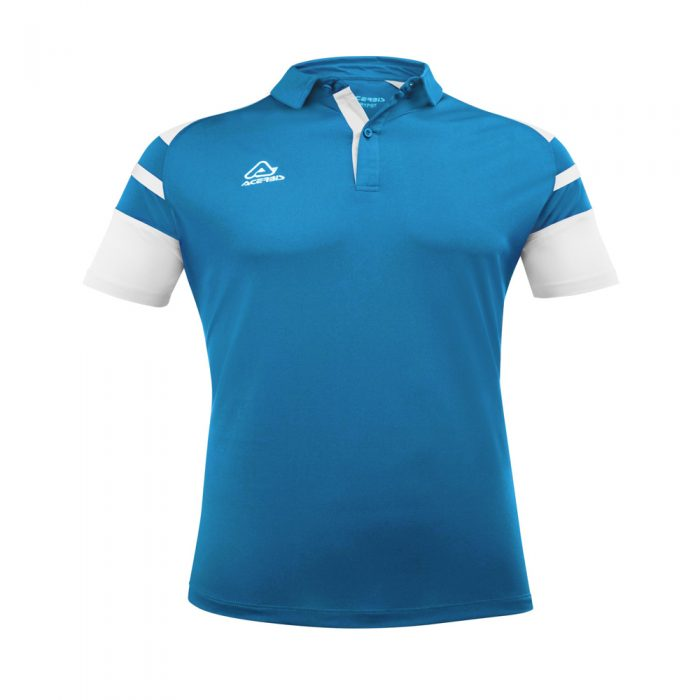 Acerbis Kemari Polo Shirt Blue White 1