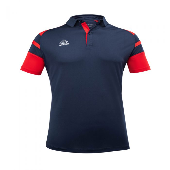Acerbis Kemari Polo Shirt Navy Red 1