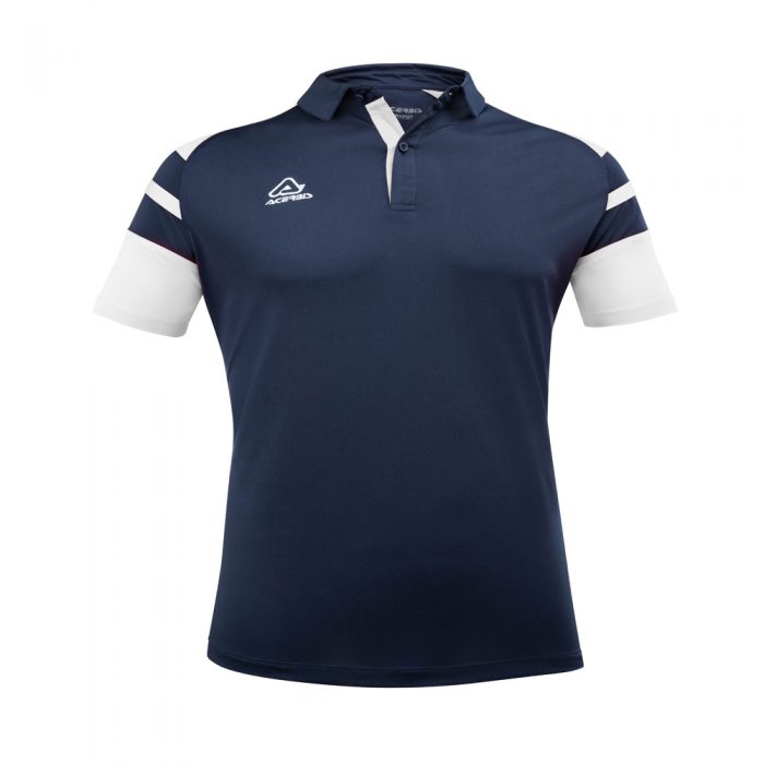 Acerbis Kemari Polo Shirt Navy White 1