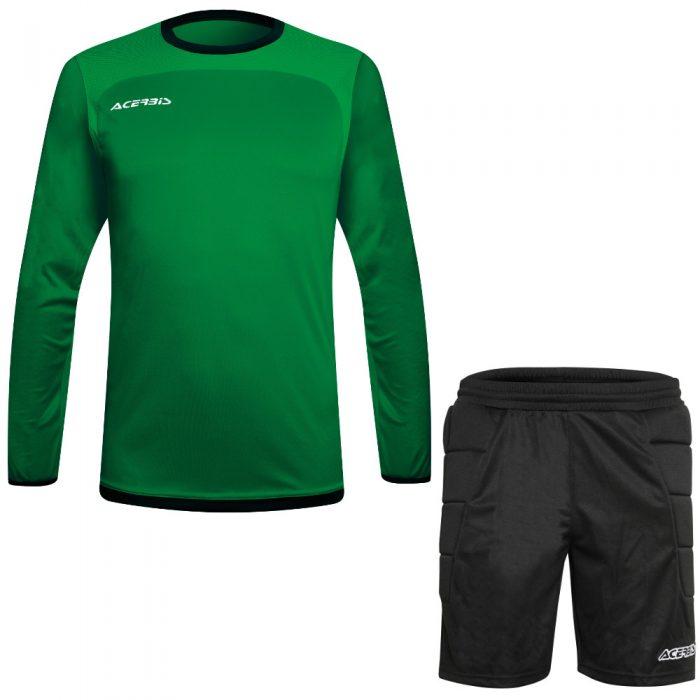 Acerbis Lev Goalkeepers Kit Green Black