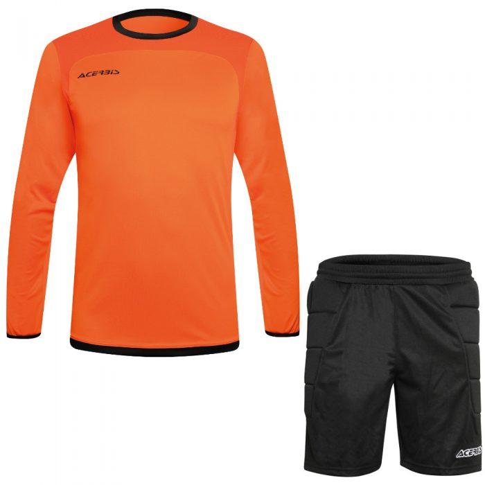 Acerbis Lev Goalkeepers Kit Orange Black