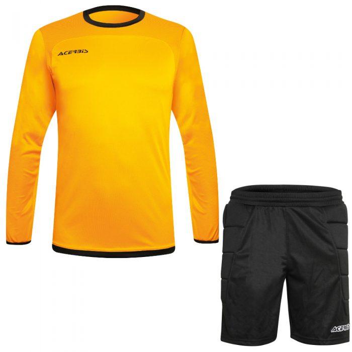 Acerbis Lev Goalkeepers Kit Yellow Black