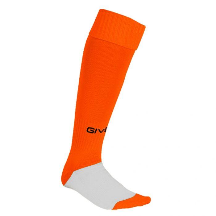 Givova Calcio Football Socks Orange Fluo