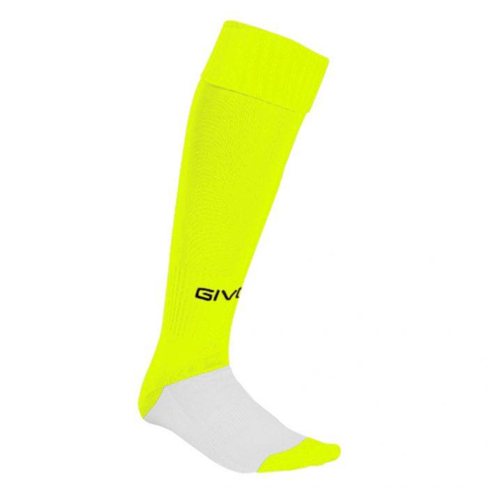 Givova Calcio Football Socks Yellow Fluo