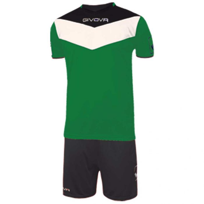 Givova Campo Football Kit Green Black