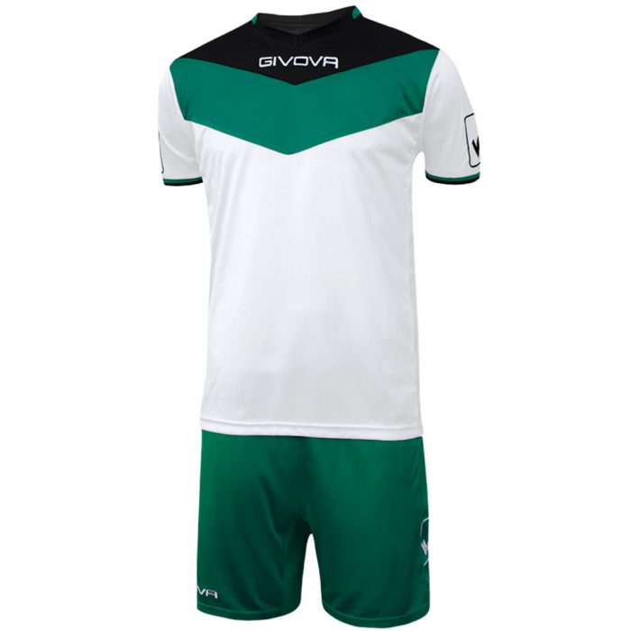 Givova Campo Football Kit White Green