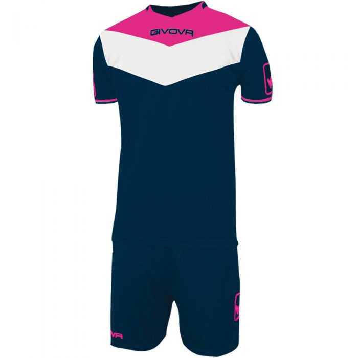 Givova Campo Navy Fluo Pink White