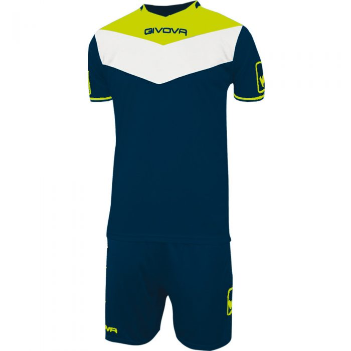 Givova Campo Navy Fluo Yellow White