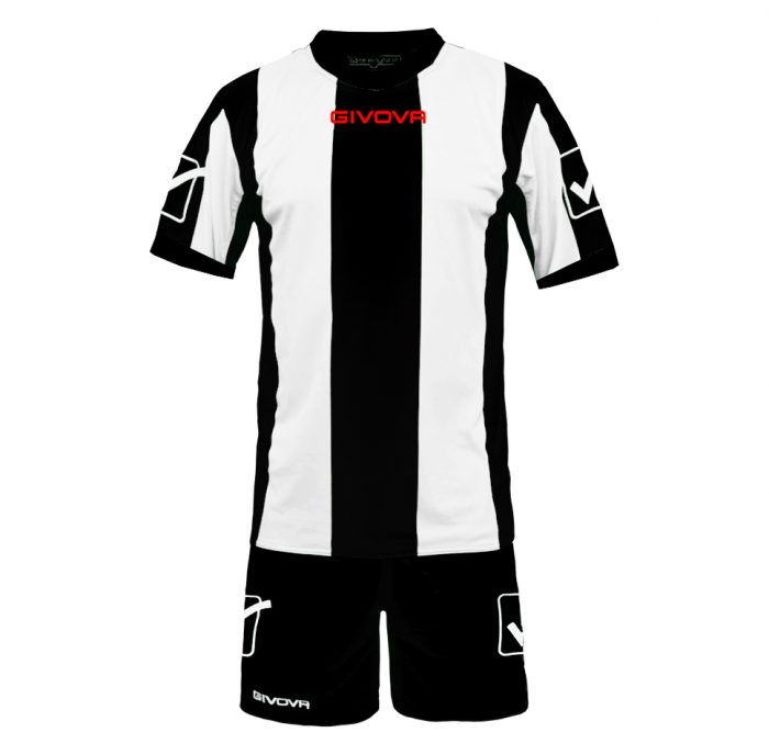 Givova Catalano Football Kit Black White