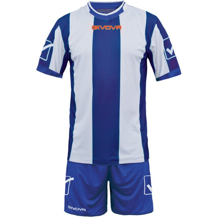 Givova Catalano Football Kit Blue White