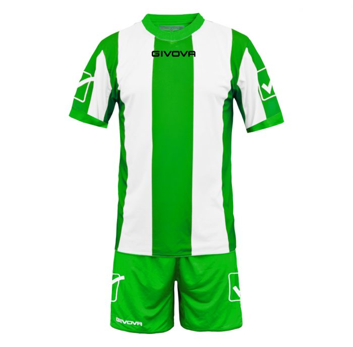 Givova Catalano Football Kit Green White