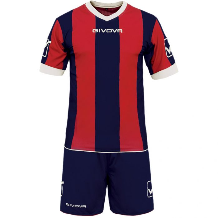 Givova Catalano Football Kit Navy Red