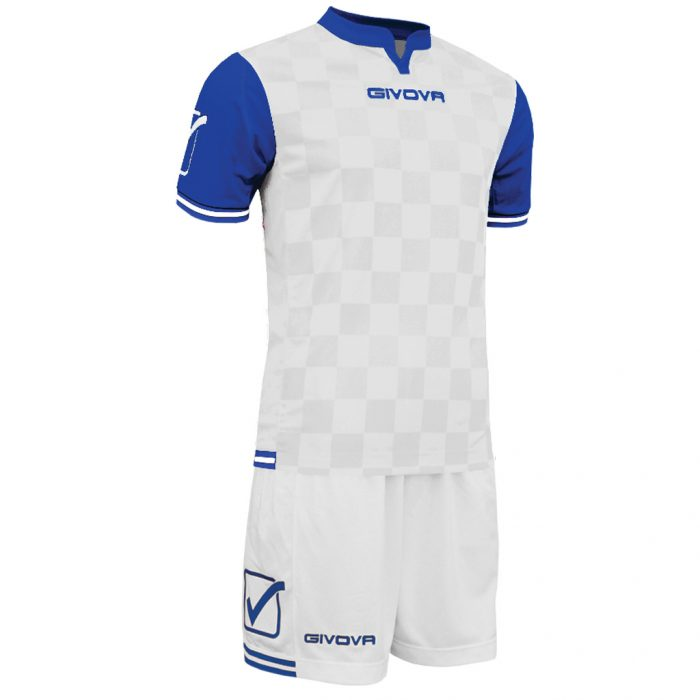 Givova Competition Football Kit White Blue