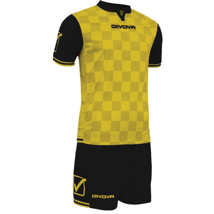 Givova Competition Football Kit Yellow Black