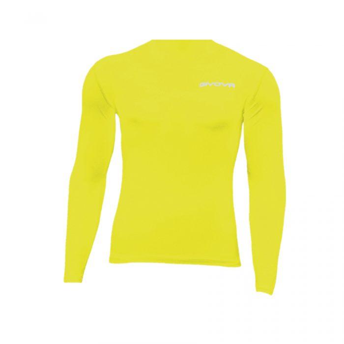 Givova Corpus 3 Baselayer Yellow Fluo