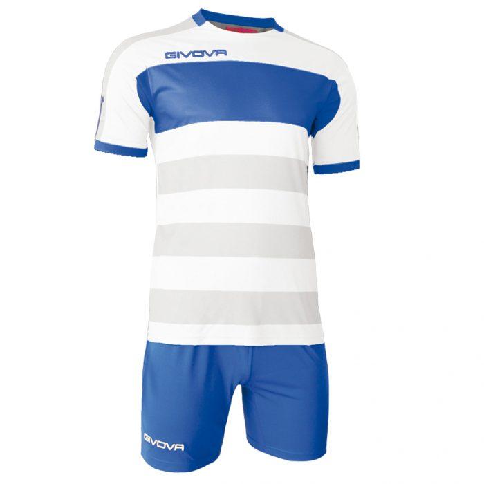 Givova Derby Football Kit White Blue