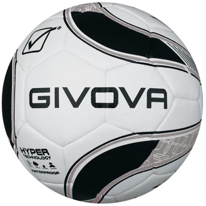 Givova Hyper Football White Black Silver