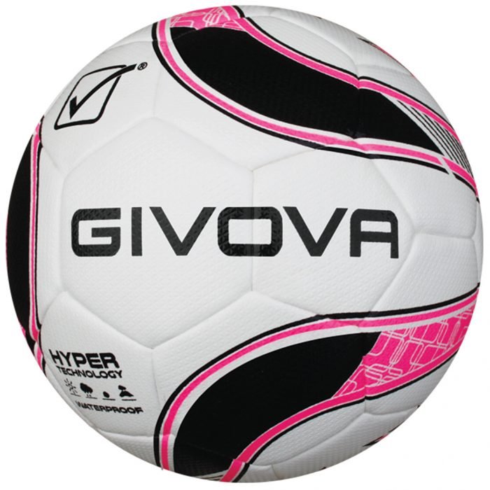 Givova Hyper Football White Pink Black