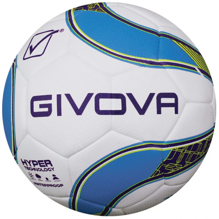 Givova Hyper Football White Purple Blue