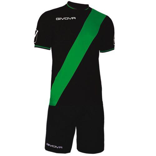 Givova Plate Football Kit Black Green