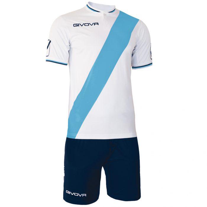 Givova Plate Football Kit White Sky