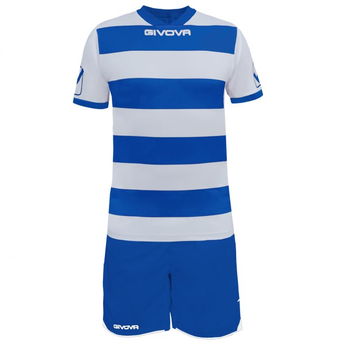 Givova Rugby Football Kit Blue White