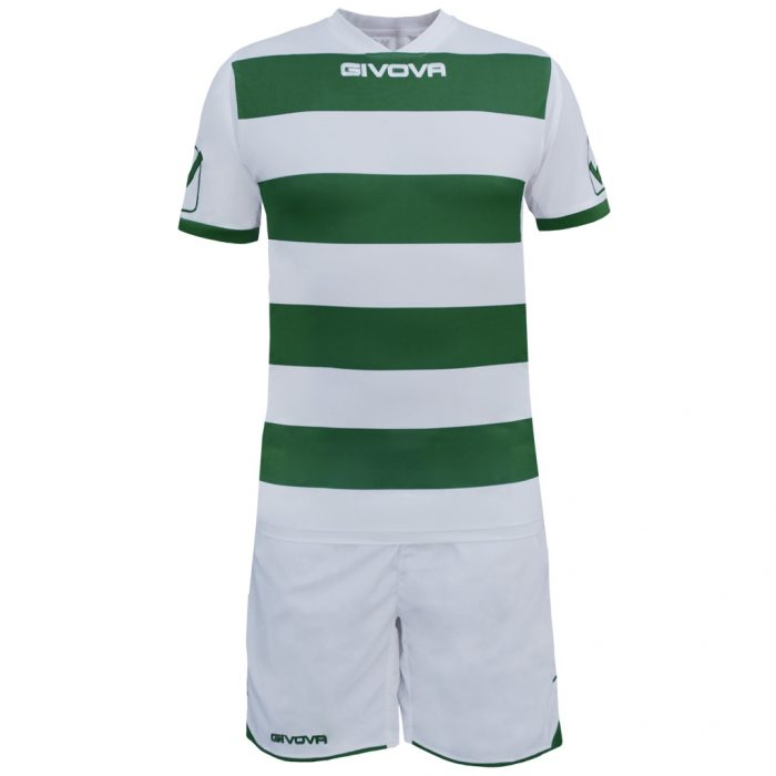 Givova Rugby Football Kit White Green