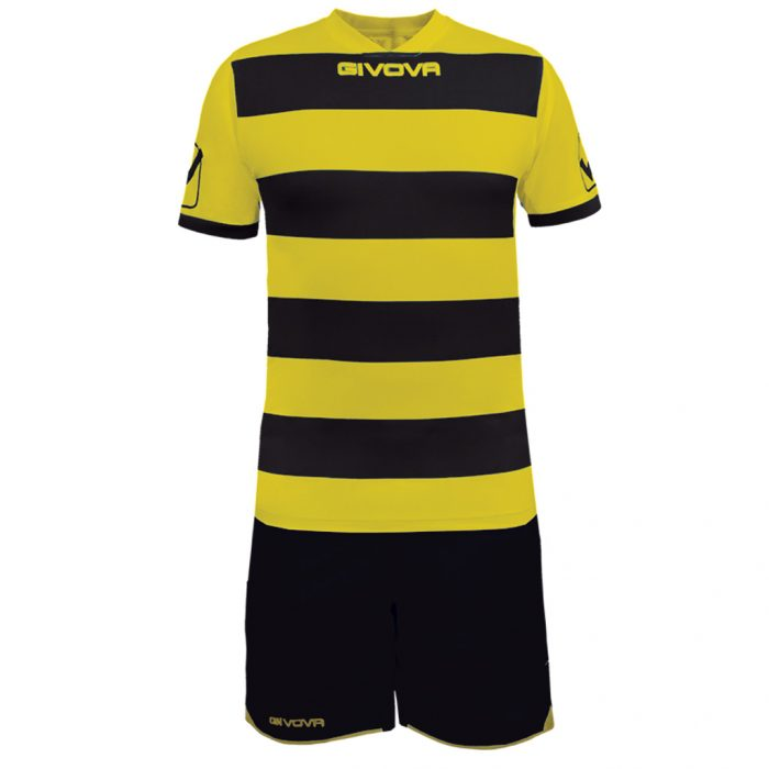 Givova Rugby Football Kit Yellow Black