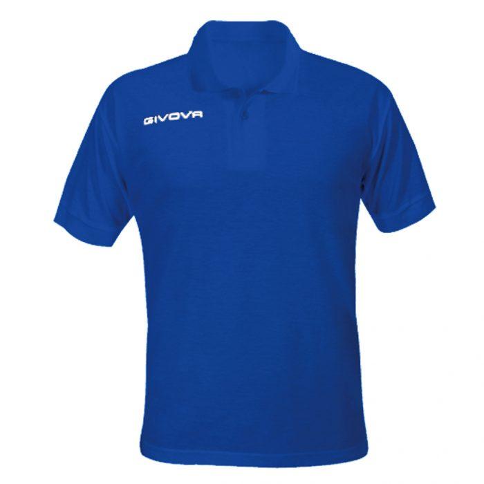 Givova Summer Polo Shirt Blue