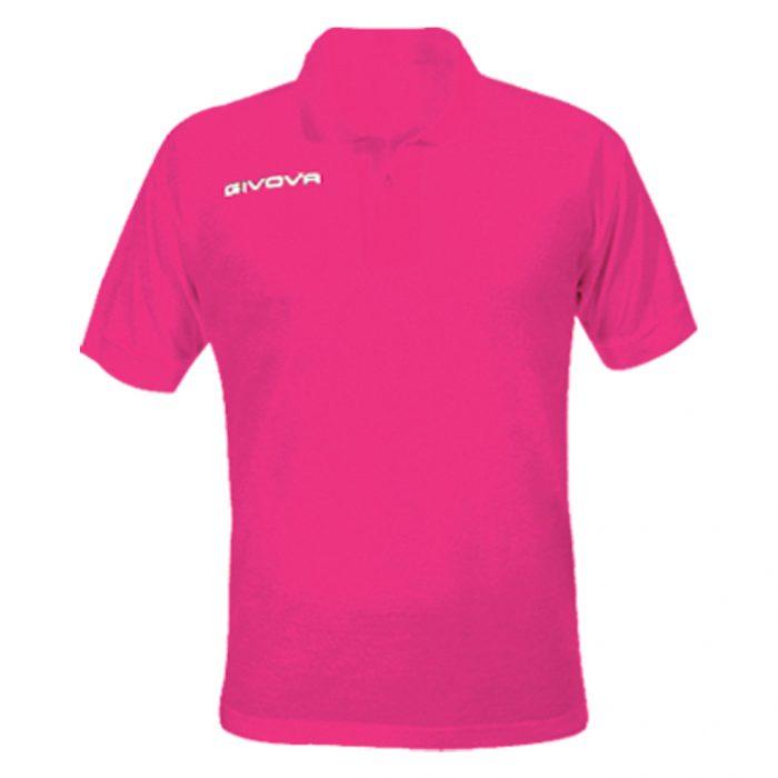 Givova Summer Polo Shirt Fuschia