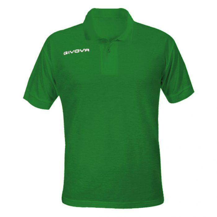 Givova Summer Polo Shirt Green