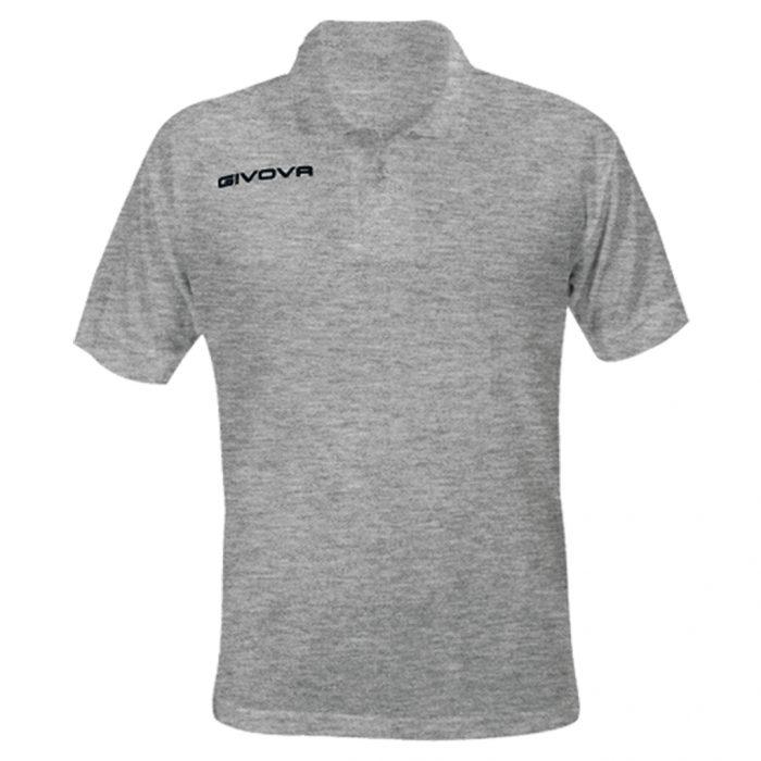 Givova Summer Polo Shirt Grey
