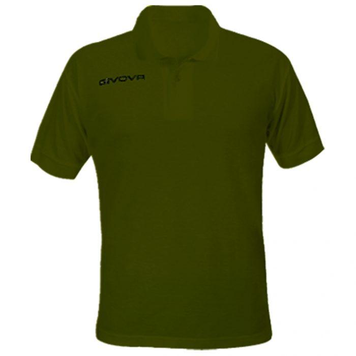 Givova Summer Polo Shirt Military Green
