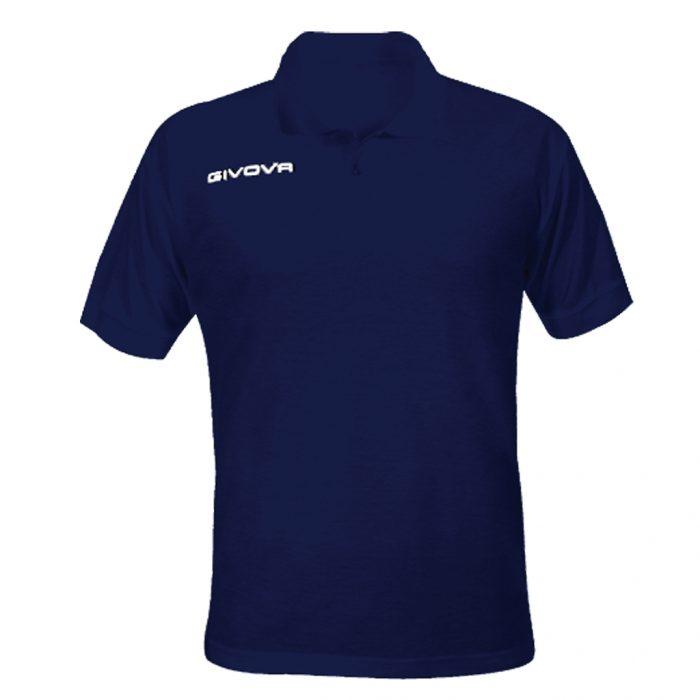 Givova Summer Polo Shirt Navy