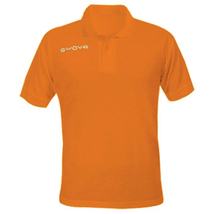Givova Summer Polo Shirt Orange
