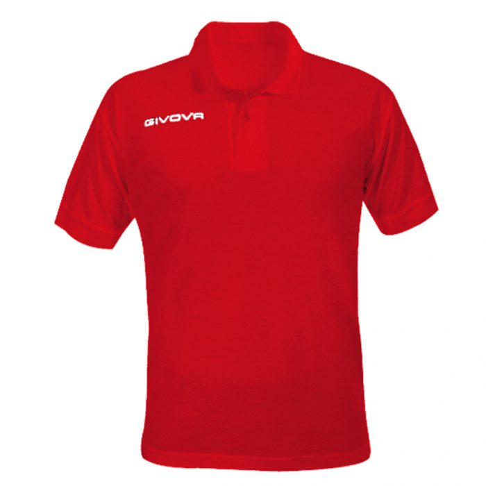 Givova Summer Polo Shirt Red
